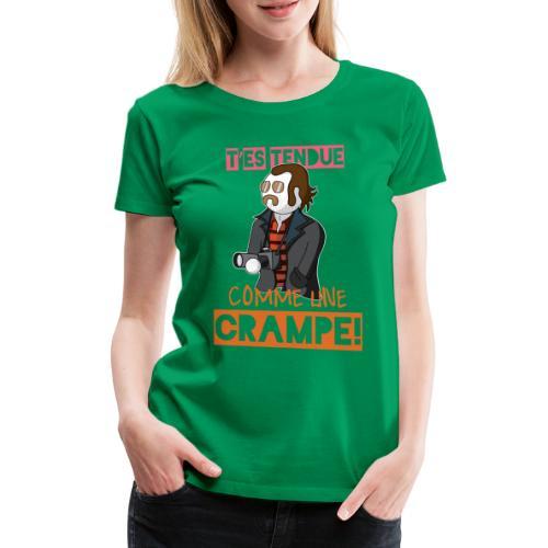 Claudy Faucan Dikkenek - T-shirt Premium Femme