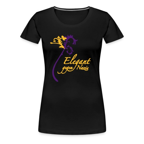 blume1b - Frauen Premium T-Shirt