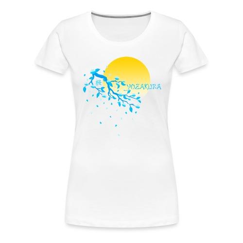 Cherry Blossom Festval Full Moon 2 - Frauen Premium T-Shirt