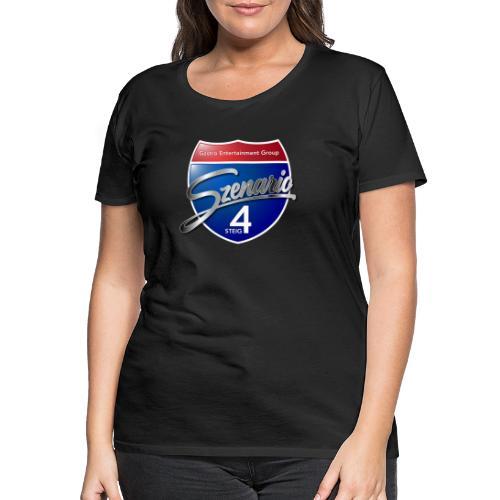 Steig4 - Szenario - Logo - Frauen Premium T-Shirt