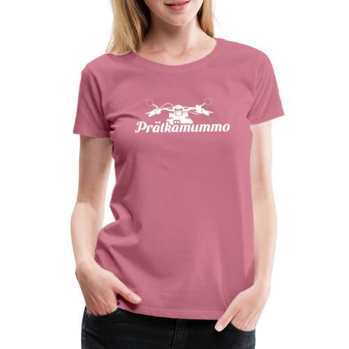 Prätkämummo - Naisten premium t-paita