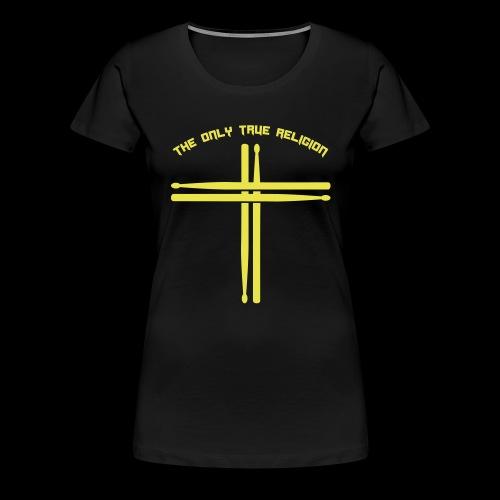 True Religion - Frauen Premium T-Shirt