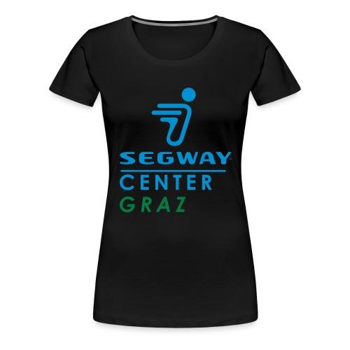 segway graz quatrat 2c - Frauen Premium T-Shirt