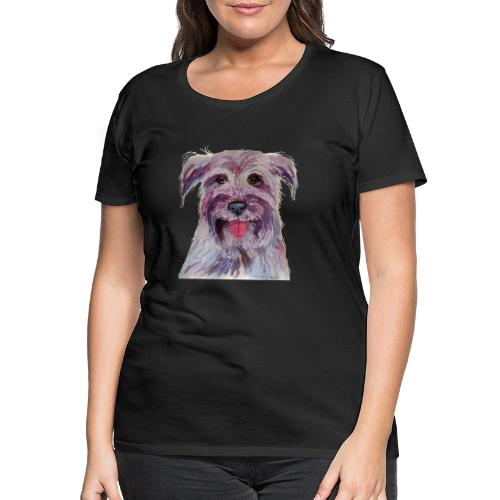 pyrenean shepherd - Dame premium T-shirt