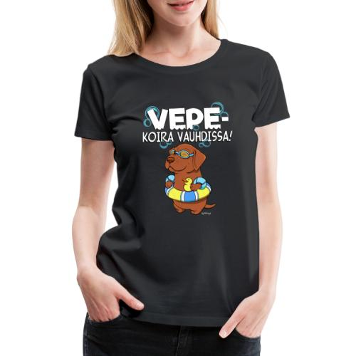 vepevauhti2 - Naisten premium t-paita