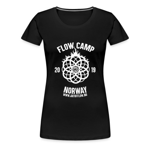 Official Flow Camp 2019 - Premium T-skjorte for kvinner
