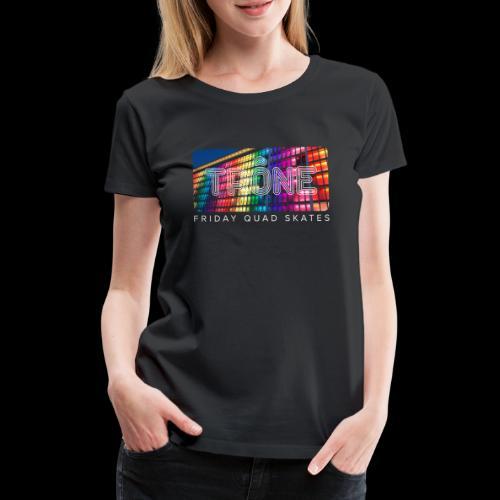 Trône Friday quad skates - T-shirt Premium Femme