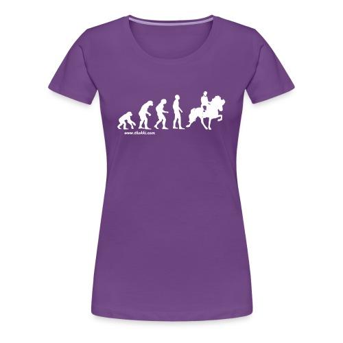 Evolution Tölt - Frauen Premium T-Shirt