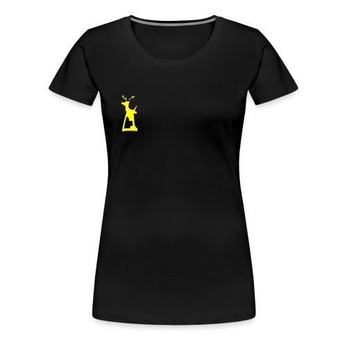 kumei08 hirsch png - Frauen Premium T-Shirt