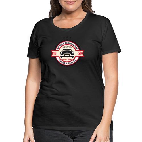 Hot Rod and Kustom Garage - Frauen Premium T-Shirt