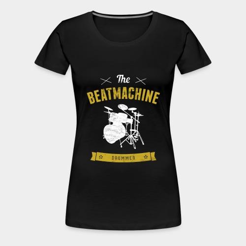 Schlagzeug Musik Trommel Beat Drummer - Frauen Premium T-Shirt