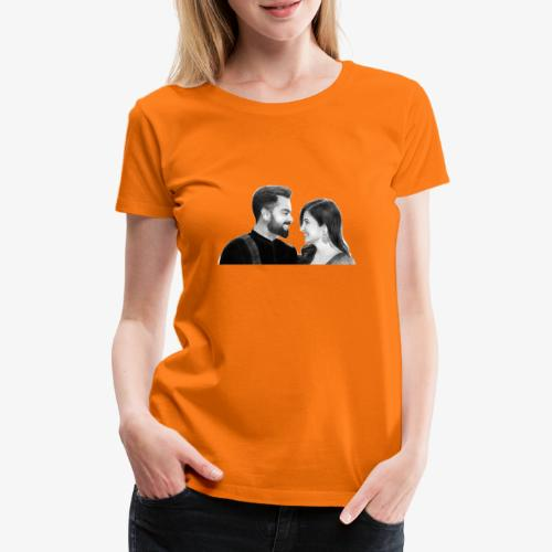VIRUSKA / VIRAT KOHLI AND ANUSHKA SHARMA - Premium-T-shirt dam