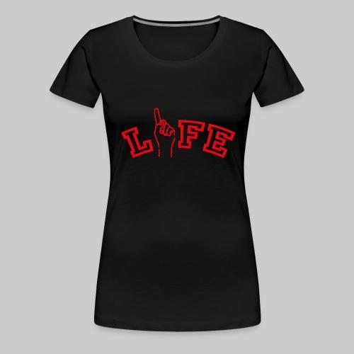 ONE LIFE - Women's Premium T-Shirt