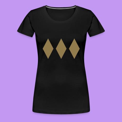 Lord Freeman 3 Lozenge Gold - Women's Premium T-Shirt