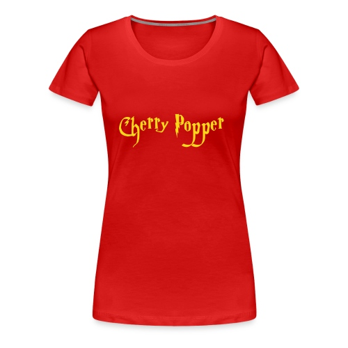 cherry vector - Women's Premium T-Shirt