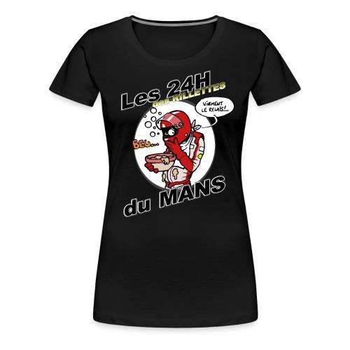 Rillettes png - T-shirt Premium Femme