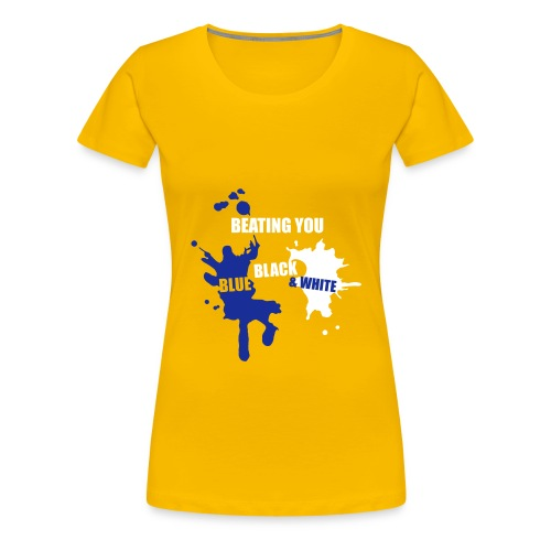 Beating You Splashes - Women's Premium T-Shirt