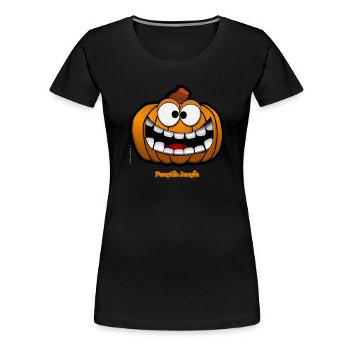 PumpkinJumpin 02 - Women's Premium T-Shirt