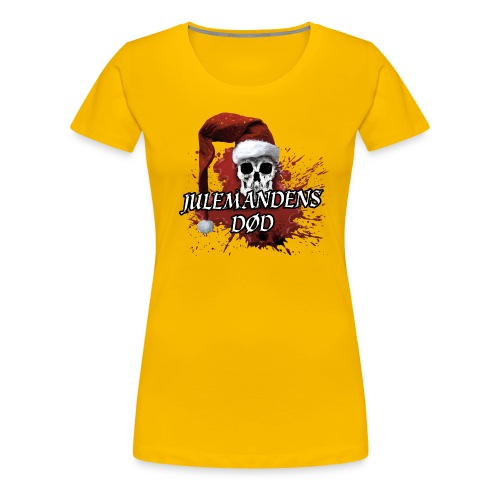 JULEMANDENS DØD 1 - Dame premium T-shirt
