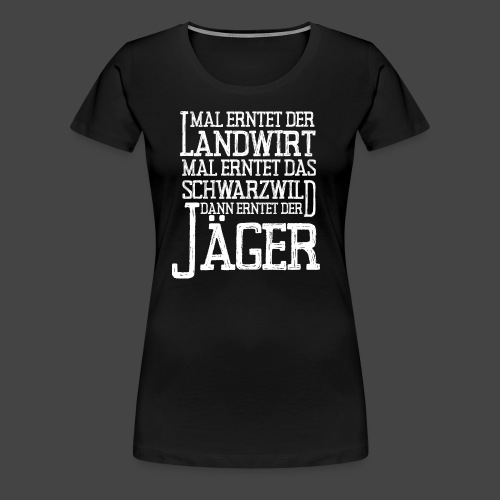 Vollernter - Frauen Premium T-Shirt