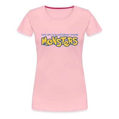 Monsters - Women's Premium T-Shirt