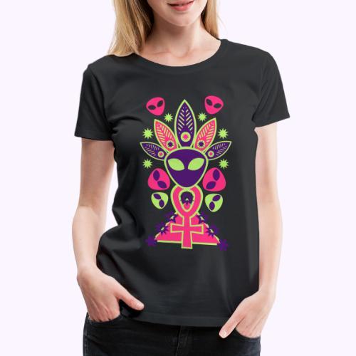 Ankhmania Neon 1 - Camiseta premium mujer