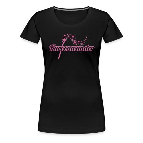 kurvenwunder 2 - Frauen Premium T-Shirt