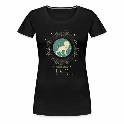 Sternzeichen Löwe Sternbild Geburtstag Juli August - Frauen Premium T-Shirt