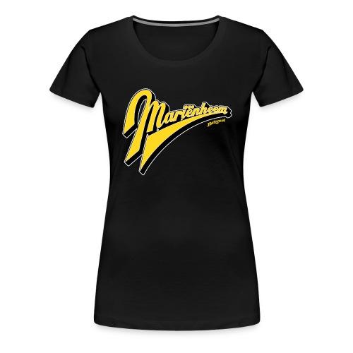 Batzer Salland series Mariëmheem script kleur - Vrouwen Premium T-shirt