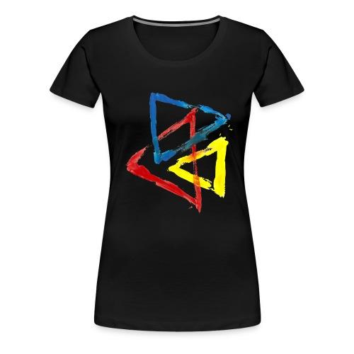 Geometric - Maglietta Premium da donna