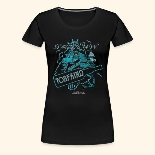 Torfkind Islay Design für Single Malt Whisky-Fans - Frauen Premium T-Shirt