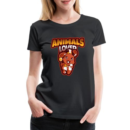 animals lover - Women's Premium T-Shirt