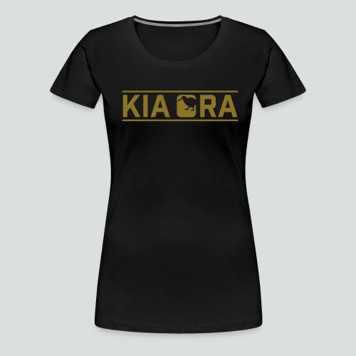 kia ora New Zealand - Frauen Premium T-Shirt