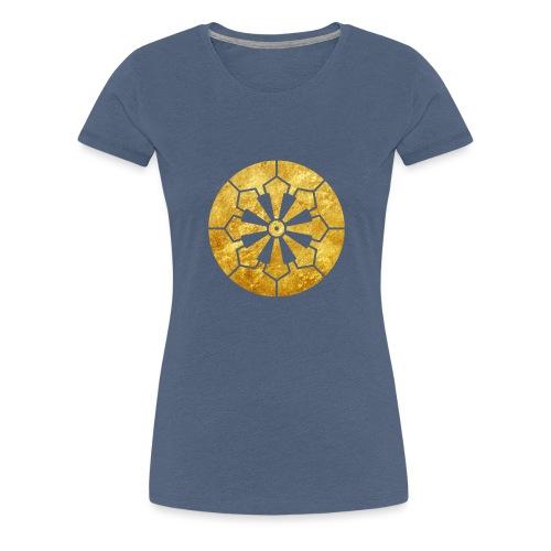 Sanja Matsuri Komagata mon gold - Women's Premium T-Shirt