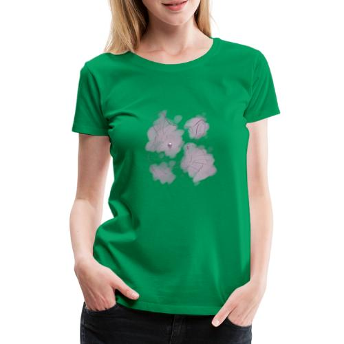 Violet splash chinchilla 2 - Naisten premium t-paita