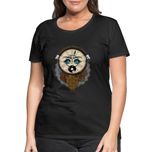 Remember the future : souviens-toi du futur - Or - T-shirt Premium Femme