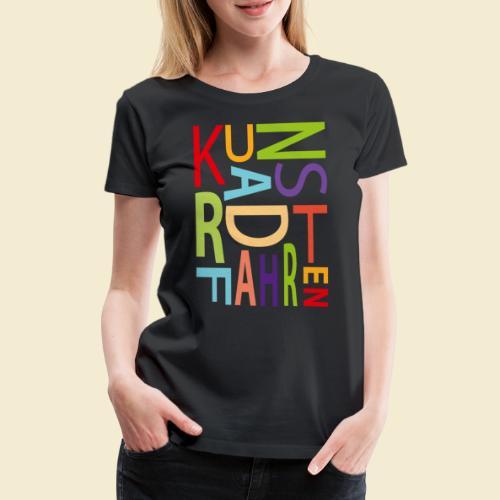 Kunstrad | Kunstradfahren color - Frauen Premium T-Shirt