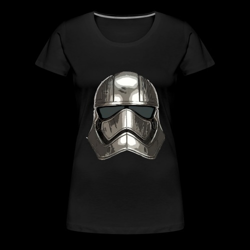 Phasma's Helmet - Women's Premium T-Shirt