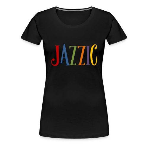 Jazzic Logo - Frauen Premium T-Shirt