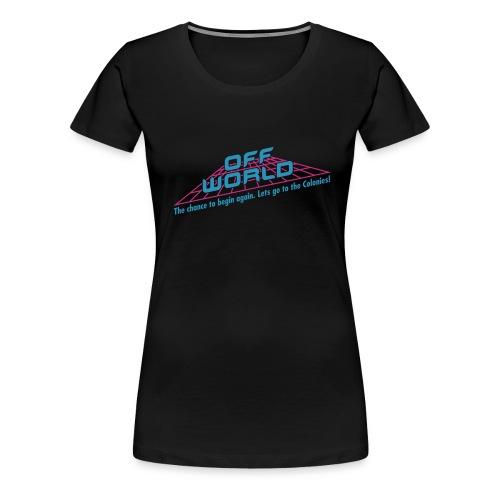 offworld - Women's Premium T-Shirt