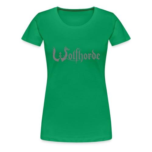 wolfhorde vector black - Women's Premium T-Shirt