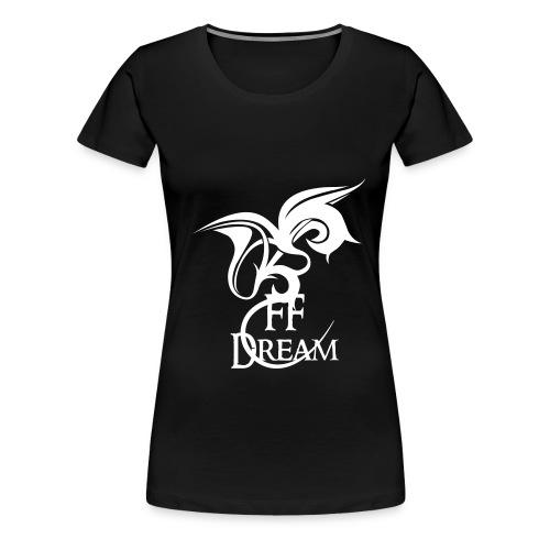 FFDream Noir - T-shirt Premium Femme