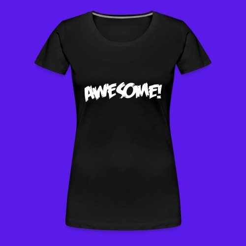 awesome png - Women's Premium T-Shirt