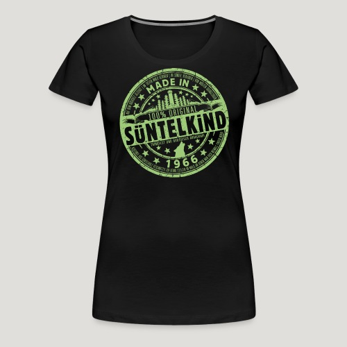 SÜNTELKIND 1966 - Das Süntel Shirt mit Süntelturm - Frauen Premium T-Shirt