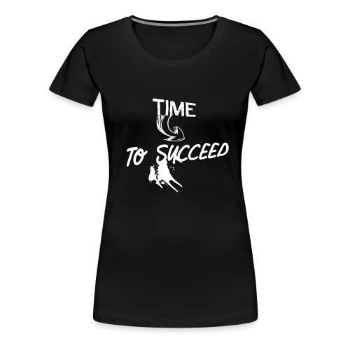 Het tijd - Vrouwen Premium T-shirt