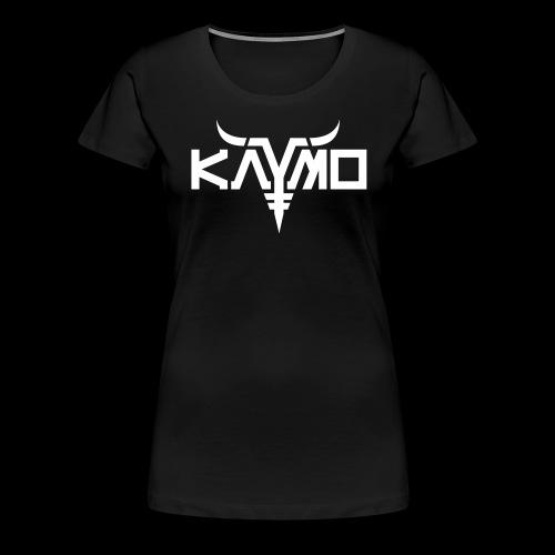 KayMo Logo - Premium T-skjorte for kvinner