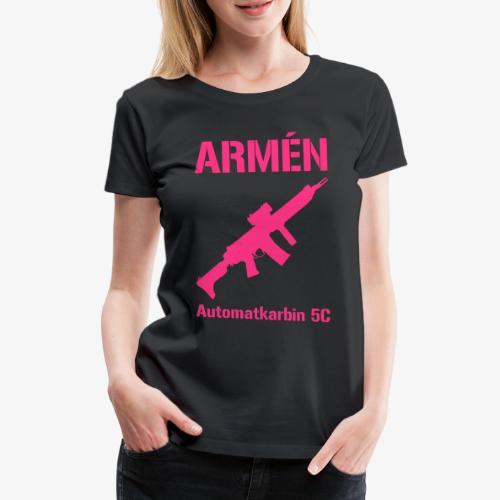 ARMÈN - Ak 5C - Premium-T-shirt dam