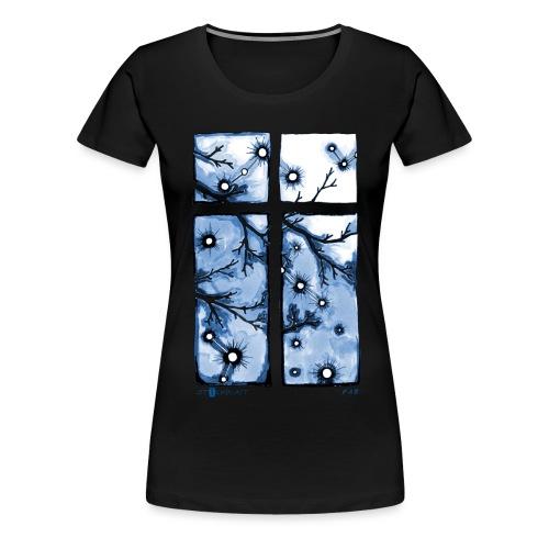 Für immer und ein Tag (blau) - Frauen Premium T-Shirt