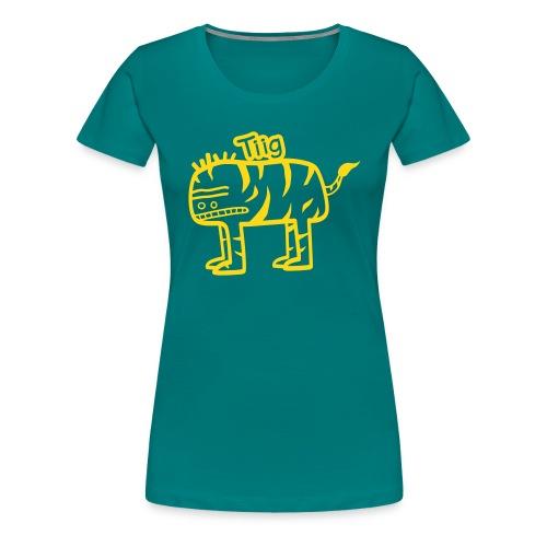 tigre - T-shirt Premium Femme