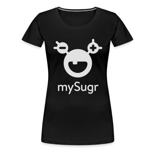 mySugr Tasche - Frauen Premium T-Shirt